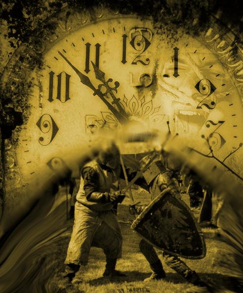 Le voyage dans le temps. Sujet d'inspiration pour l'auteur fantastique Jean-Marc Dhainaut