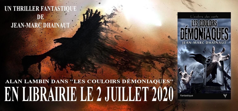 Jean-Marc Dhainaut. Auteur de thrillers fantastiques.