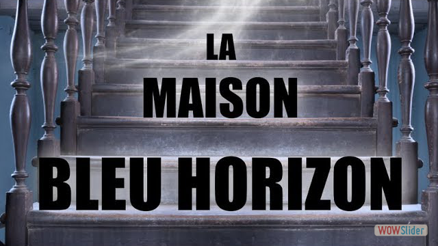La Maison bleu horizon - Jean-Marc Dhainaut